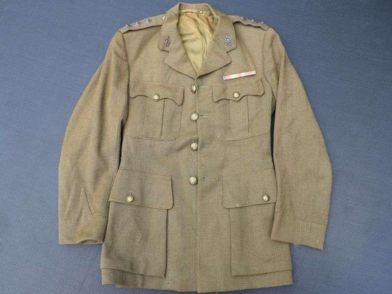 31) WW2 British RAOC Officers Service Dress Jacket