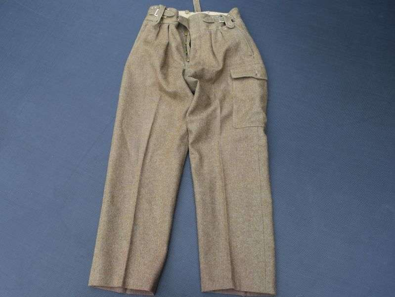 32) British Army 1949 Pattern Battledress Trousers