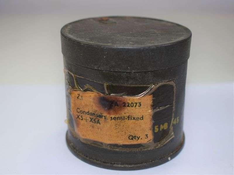 109) Mint Unissued Wireless Set Condensers Semi-Fixed ZA 22073