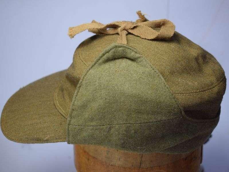 31) Good Size Original Unissued WW2 British Army Ski Cap 1943