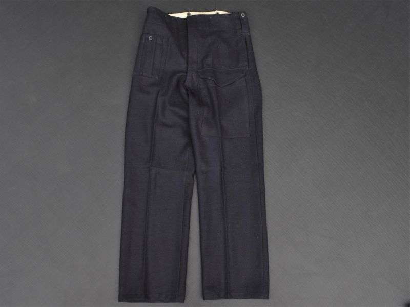 44) Excellent Near Mint WW2 British ARP Civil Defence Battledress Trousers