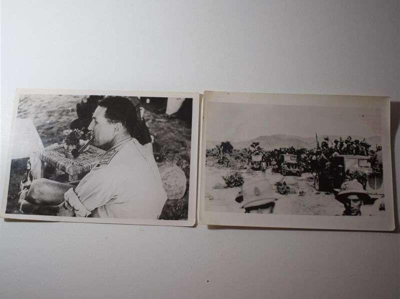 116) Original WW2 German Press Photos of Italian Army in Somalia 1940