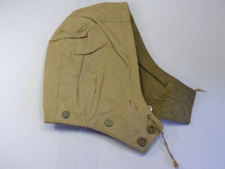 135) Original Post War British Tank Suit Pixie Suit Removeable Hood