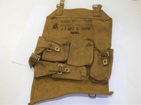 166) Original WW2 Canadian Made Wallet Spare Parts Bren MG MKI .303