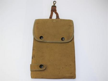 26) Original WW1 British Army Officers Map Case from Sam Brown Equipment