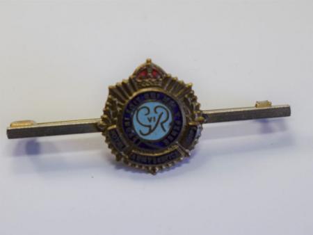 26) Original WW2 RASC Sweetheart Brooch with Pin Back