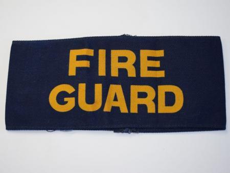 3) Original WW2 British Home front Fire Guard Armband