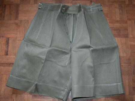 12) Good 1950s British Officers JG Shorts Malaya, Korea, Singapore, Hong Kong