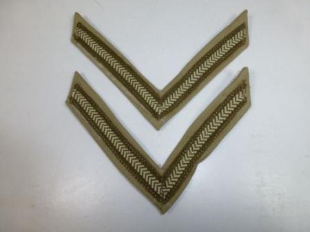 Original WW2 British Army KD Lance Corporals Stripes