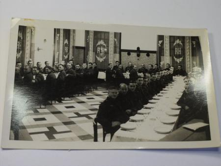 15) Original 1930s-WW2 Photo of Nazi officers & Men at Dinner Party