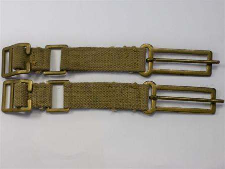 Unissued WW2 British Officers Brace Attachments MECo 1943