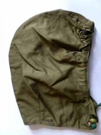 Mint Un-issued Attachable Hood For 1950 Pat Combat