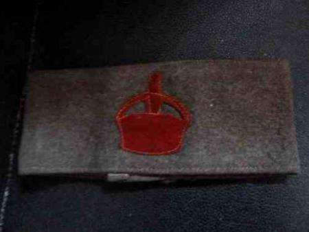 WW1 British Army Derby Scheme Armband