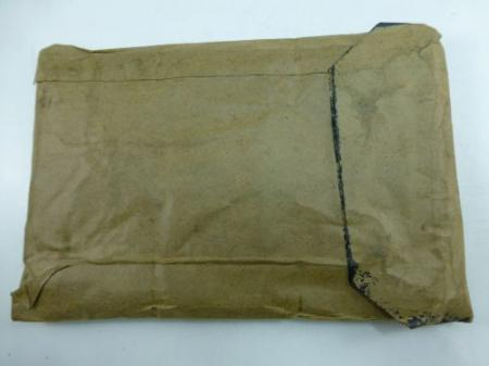 Un-issued WW2 British Army Jungle Green Map Case