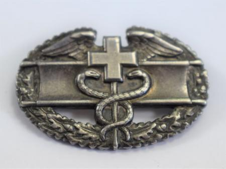 6 Original WW2 to Post War Issue US Army CMB Combat Medical Badge
