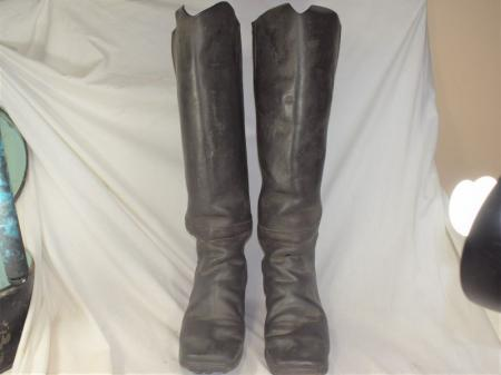 Very Early 19th Century German or French Military Cavalry Boots