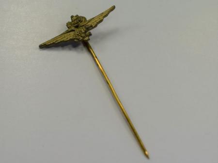 51) Original Small WW2 Italian Fascist Tank Pilots Tie Pin