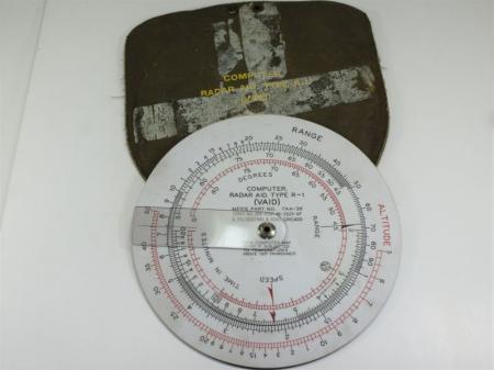 116) Original USAAF USAF Computer Radar Aid, Type R-1 (Vaid)