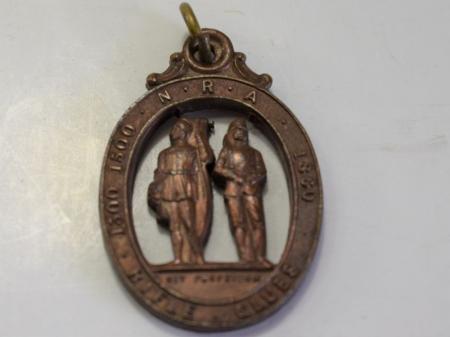 48) Vintage National Rifle Association Rifle Club Medal