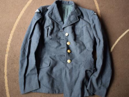 GD1) Original WW2 Pattern CWAAF Woman's Issue SD Jacket 1952 RCAF