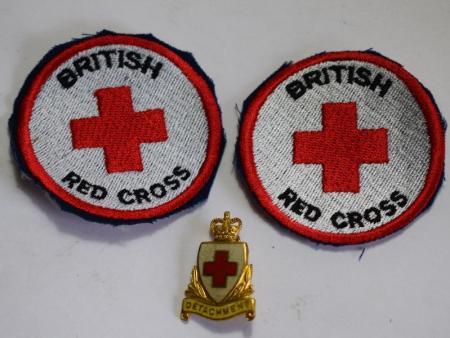 GD3) A Set of 3 Post War British Red Cross Badges