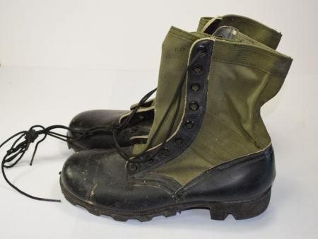 104) Excellent Unissued US Army Vietnam Jungle Boots Dated 1968