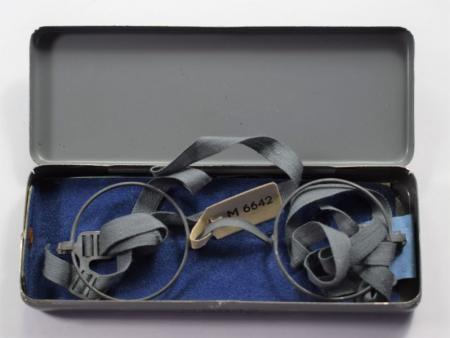76) Mint Original Unissued WW2 German Military Gas Mask Glasses