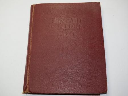145) Interesting WW2 The Complete 1st Aid Outfit Book & ARP