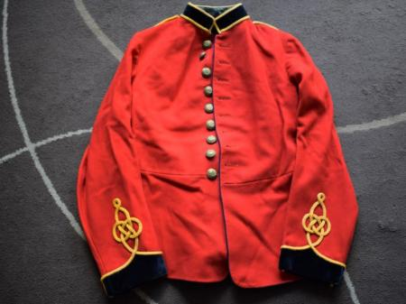 19) Near Mint Unissued Pre WW1 Royal Engineers Home Service Scarlet Tunic